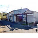 【貸倉庫】平屋建て18.3坪/4号バイパス至近