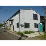 【貸工場】外壁・床塗装済み/準工業地域