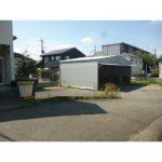 【貸倉庫】広い駐車スペース有/圏央道「鶴ヶ島IC」至近