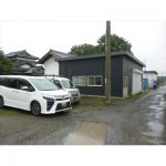 【貸倉庫】24坪の新築倉庫/駐車スペース3台付き