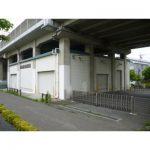 【貸倉庫】JR高架下に立地/シャッター6ヶ所