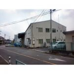 【貸倉庫】工業地域/2階建て事務所付き